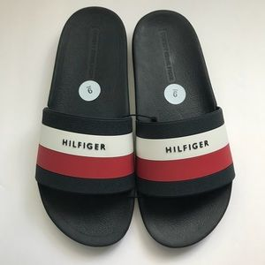 431564cde09 Tommy Hilfiger Shoes - Tommy Hilfiger Men s Earthy Slide Sandal